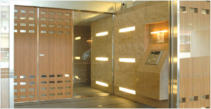 Products│t M E C Apartment System Automatic Door Sales